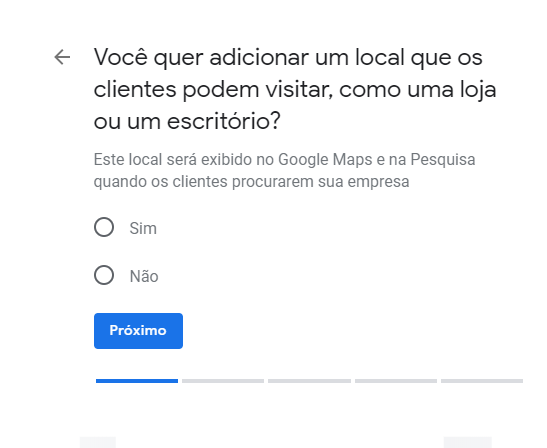a importancia do google meu negocio
